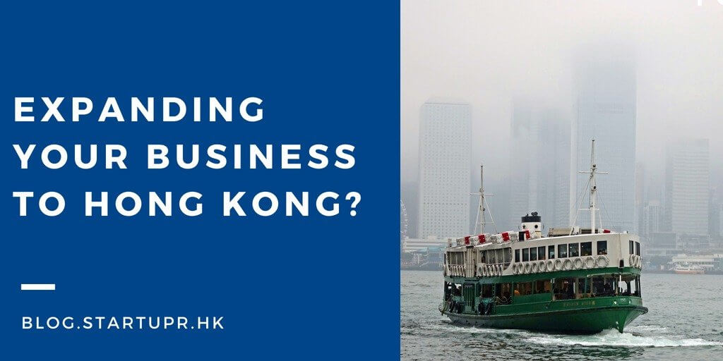 Expanding  Business to Hong Kong