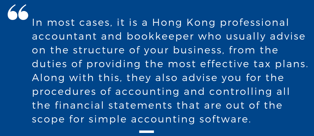 Bookeeping Hong Kong