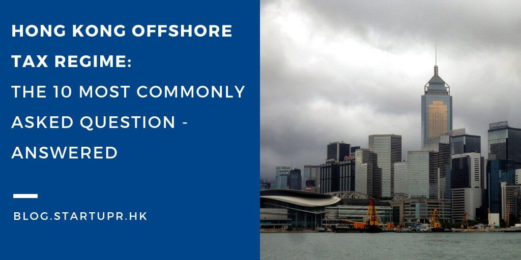 Hong Kong Offshore Tax Regime