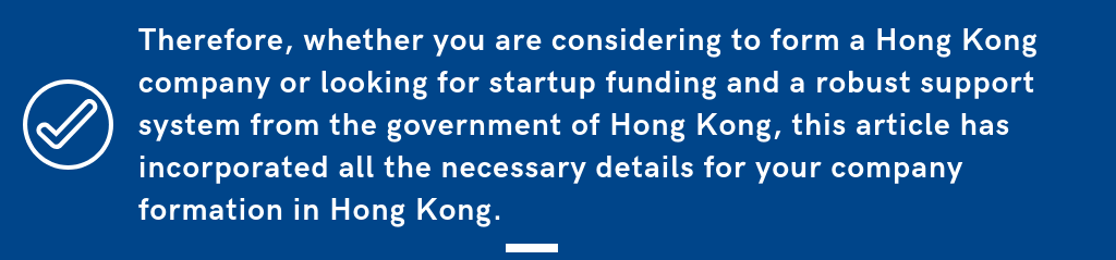 HK Government Support to SME