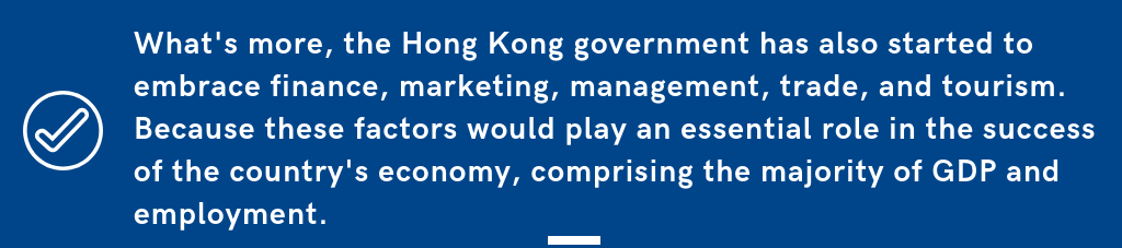 Hong Kong Governemnet Support