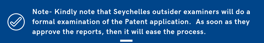 Patent application Seychelles