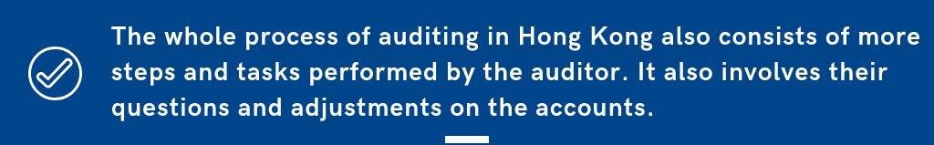 accounting auditing in Hong Kong