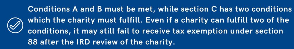 Charity Hong Kong Conditions