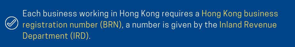 BRN IRD Hong Kong